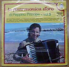PRINCIPE PEPPINO LA FISARMONICA D'ORO VOL. 3 LP SEALED ITALY