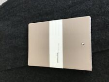 MONTBLANC Fine Stationery Notebook #146 Soft Grain Beige, lined - Factory Sealed