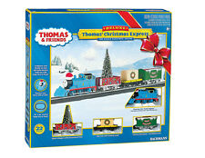 Bachmann HO Scale Train Set Analog Thomas Christmas Express 00721