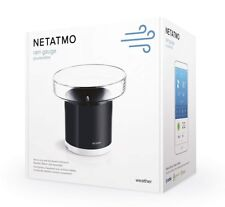 Netatmo Black Smart Rain Gauge for Netatmo Weather Station - Works With Alexa