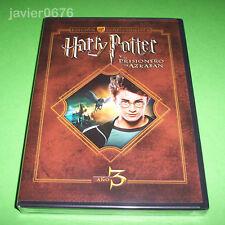 HARRY POTTER Y EL PRISIONERO DE AZKABAN EDICION COLECCIONISTA 2 DISCOS DVD NUEVO