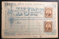 Mint Mexico Postal Stationery Postcard  H+G1a