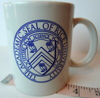Rice Owls Academic Seal  University Coffee Mug Houston