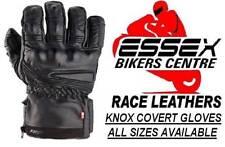 Leather Waterproof Knox Men Motorcycle Gloves
