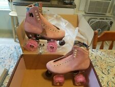 Moxi Lolly Strawberry Pink Roller Skates Size 8 (w9-9.5)Brand New READY TO SHIP!