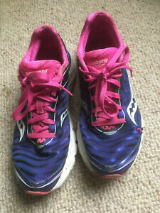 Saucony Series Type 10157-8 Flexfilm Womens Running  Shoes UK 7 Pro Grid Kinvara