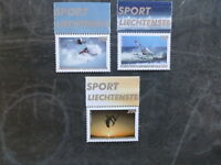 2017 LIECHTENSTEIN OUTDOOR SPORTS SET OF 3 MINT STAMPS MNH