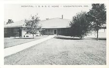 A View of the Hospital, I.S.& S.C. Home, Knightstown IN Indiana