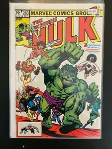 The Incredible Hulk 283 High Grade Marvel Comic Book CL87-137