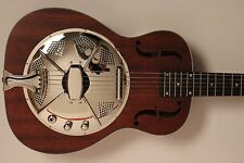 RESONATOR GUITAR SIGMA RM-140E / Dobro +Pickup beautiful Grain NEW/NEW