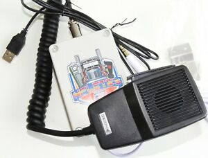 RADIO MIC CB USB PARA ATS Y ETS MULTIPLEYER