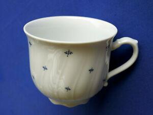 Seltmann Weiden Regina . 1 Kaffeetasse 0,21 ltr.. , Mücke blau .