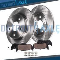 REAR.232mm Brakes Rotors & Ceramic Pads 1999-2002 2003 2004-2006 Volkswagen GOLF