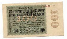Duitsland / Germany - 100.000.000 Mark 1923