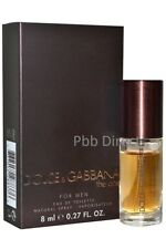 DOLCE & GABBANA THE ONE FOR MEN 8ML EDT SPRAY TRAVEL SIZE BRAND NEW & BOXED