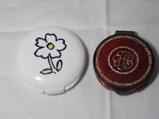 New listing Vintage Women's Max Factor Daisy Compact Unused & Hazel Bishop Compact