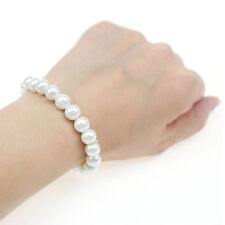 wholesale lots jewelry 5pcs elastic Glass imitated Pearl bracelet for women girl