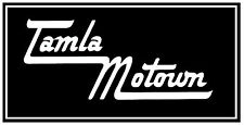 TAMLA MOTOWN - CAR / FENSTER INNEN AUFKLEBER - BRAND NEU - 19.1cmX8.9cm
