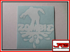 Zombie Vinyl Sticker
