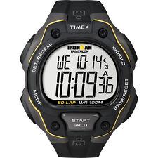 TIMEX IRONMAN 50 LAP TRD BLACK /YELLOW RSN WATCH