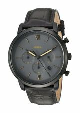 Fossil Man's FS5579 Neutra Brown Leather Chronograph Watch