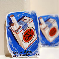 "Happy Days Vintage Ad Lucky Strike Cigarettes Retro 3x4"" Decal Sticker #3562"