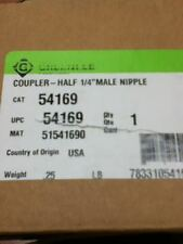 """Greenlee 54169 1/4"""" Male Coupler"""