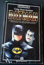 BATMAN di Craig Shaw Gardner Oscar Mondadori1989 Libro