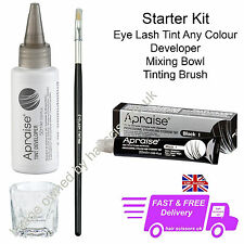 Apraise Eyelash & Eyebrow Tint Dye Starter Kit All Colours Sold