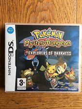 Pokemon Mystery Dungeon exploradores de la oscuridad (sin Sellar) - NDS UK release! nuevo!
