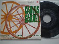 CARLOS GARDEL Madreselva SAPAIN EP 1965