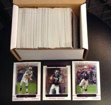 2005 Topps Chrome Football 165 Card Set Tom Brady/Peyton Manning (No RC's)
