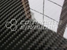 """Carbon Fiber Panel .255""""/6.5mm 2x2 Twill - EPOXY-12"""" x 48"""""""