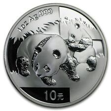 2008 Chinese Panda 1 oz Silver Coin In Mint Capsule Genuine BU