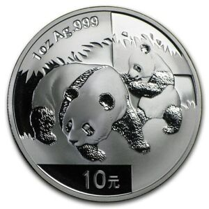 Free Ship 2013 Chinese Panda 1 oz Silver Coin In Mint Capsule FROM MINT SHEET