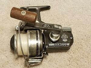 Vintage Saltwater Diawa Fishing Reel DIAWA SS-2000