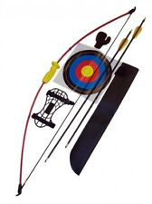 """Kids Beginners Leisure Recurve Bow Junior Archery Bow and Arrow Set (36"""")"""
