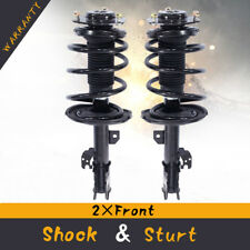 For 2007-2011 Toyota Camry Complete Front Strut & Coil Spring Assembly L+R Pair