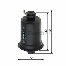BOSCH Gasoline Injection Fuel Filter 0986450109 - Single