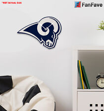 New NFL Los Angeles Rams Home Decor EVA Foam 3D Wall Clock 19.5″ x 14 d7f460edb91