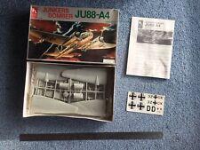 Hobby Craft 1:48 Junkers Bomber JU88-A4 model kit #1601