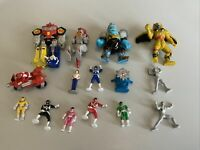 Mighty Morphin Power Rangers Micro Machines Retro 1994 Collectable Vtg Lot (1