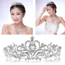 Wedding Party Bridal Princess Crystal Rhinestone Prom Hair Tiara Crown Headband