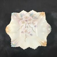 Vintage SILESIA Porcelain Candy Nut Trinket Dish 7""
