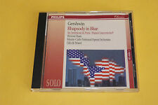"CD GERSHWIN ""RHAPSODY IN BLUE, UN AMÉRICAIN À PARIS"" WERNER HAAS / PHILIPS, TBE"
