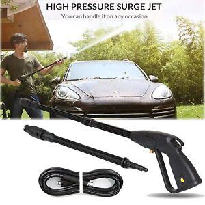 For Car High Pressure Washer Spray Gun Lance Trigger 160bar Jet Wash Water Gun