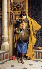 The Palace Guard LUDWIG DEUTSCH Fine Art Portrait Canvas Print