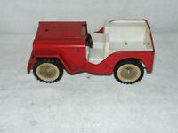 Vintage Pressed Steel Tonka Jeep