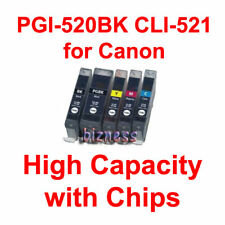 5 INK for CANON IP4700 MP540 MP560 MP630 MP640 MX860 +