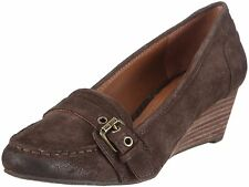 MARC O'POLO 89 16MW8921 [ GR. 42 ] DAMEN LEDER MOCCASSINPUMP PUMPS BRAUN NEU